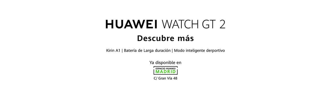 Presentación sobre Huawei Watch GT 2