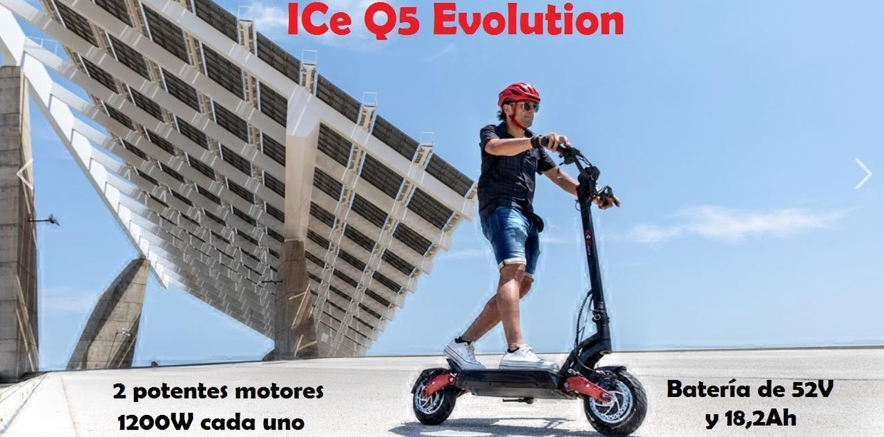 Presentación sobre ICe Q5 Evolution 52V 18Ah