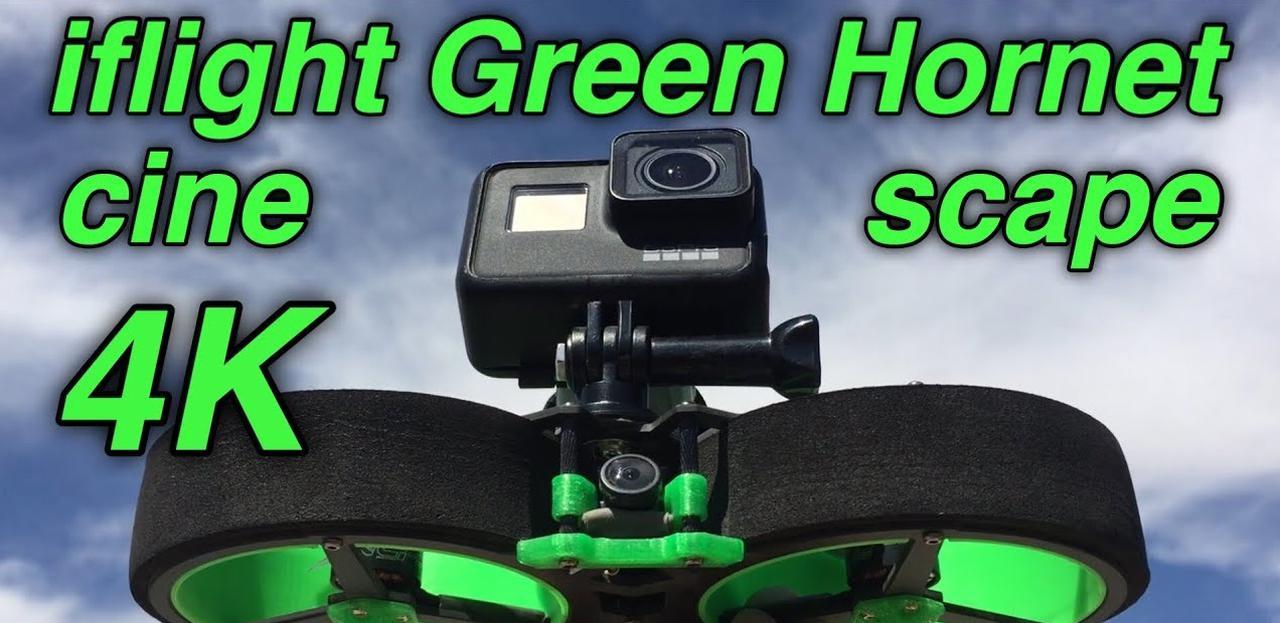 Presentación sobre IFlight GREEN HORNET Cinewhoop