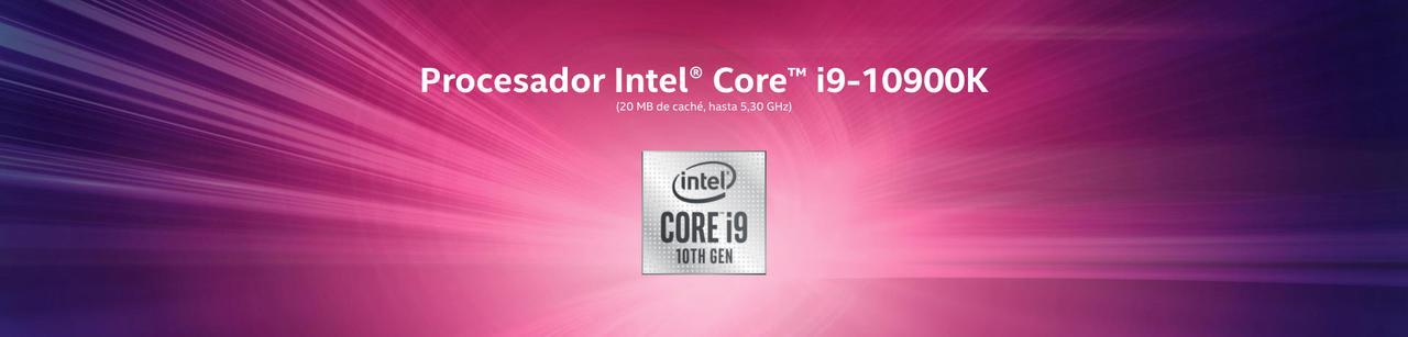 Presentación sobre Intel® Core™ i9-10900K
