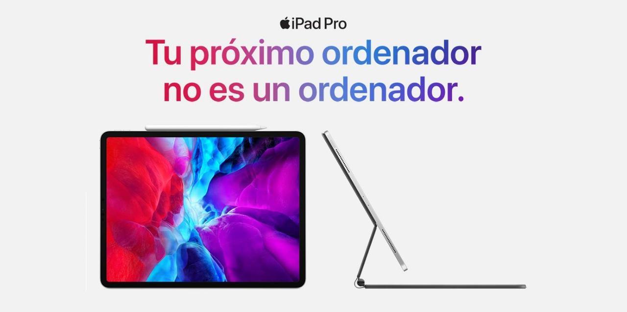 Presentación sobre iPad Pro 2020 11 Pulgadas
