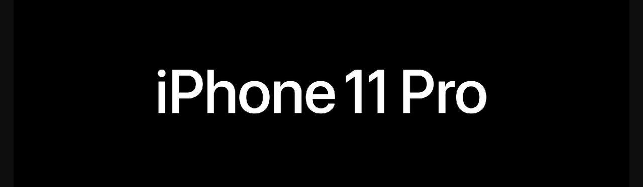 Presentación sobre iPhone 11 Pro