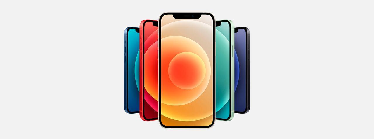Presentación sobre iPhone 12 Mini