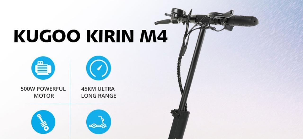 Presentación sobre Kugoo Kirin M4 Patinete Eléctrico