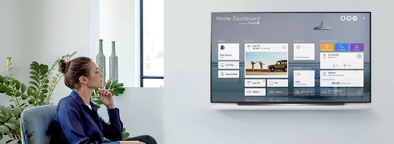 Presentación sobre LG OLED CX