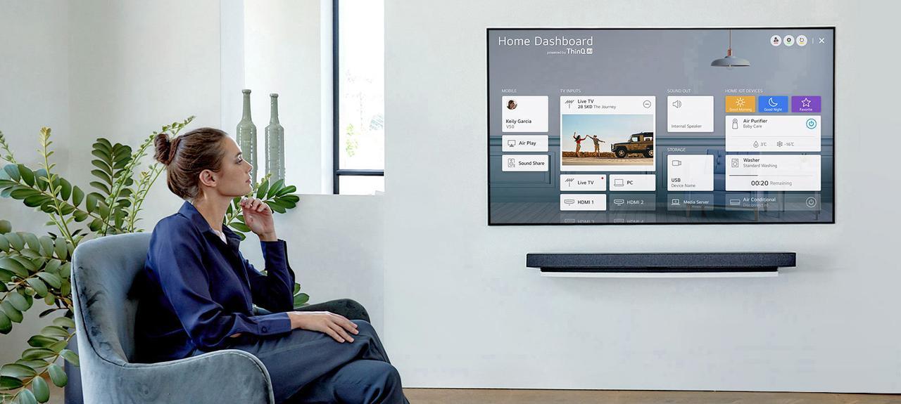 Presentación sobre LG OLED GX