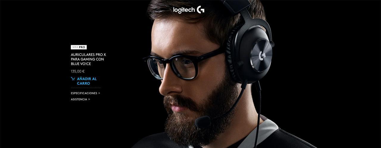 Presentación sobre Logitech G PRO X