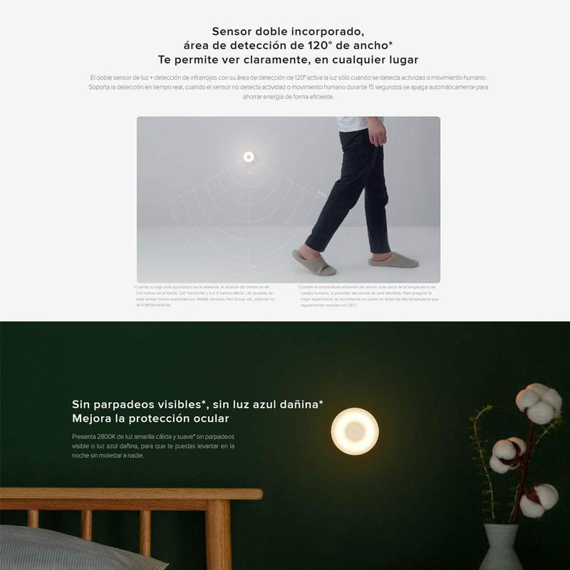Imagen de Mi Motion-Activated Night Light 2 número 2