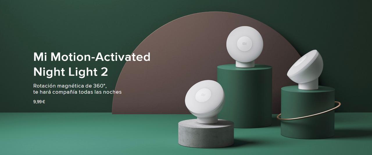 Presentación sobre Mi Motion-Activated Night Light 2