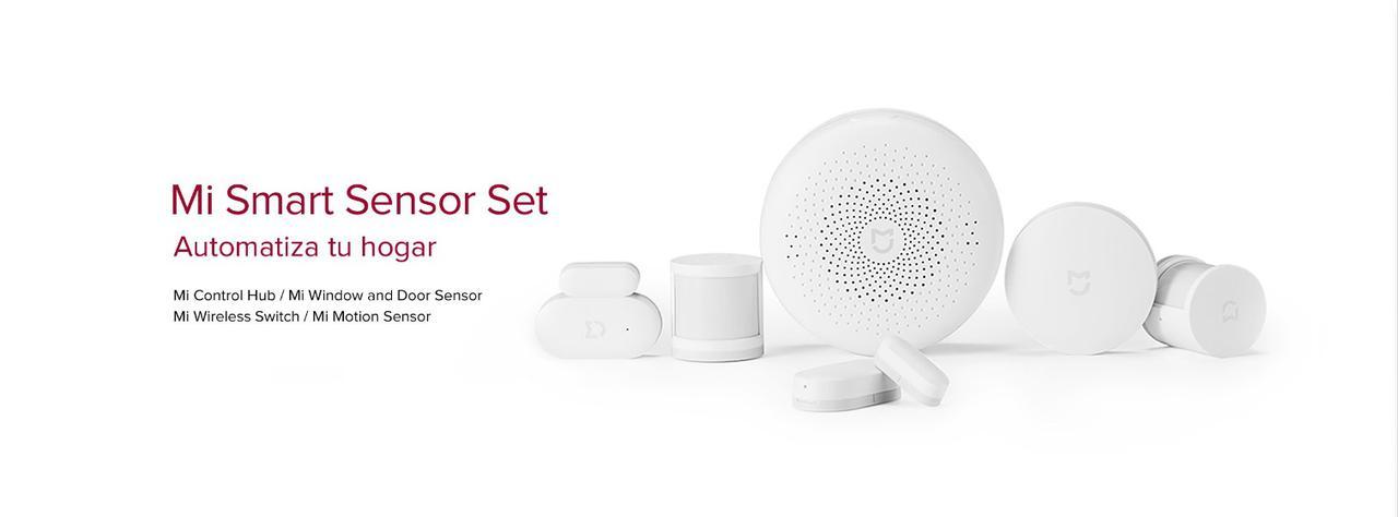 Presentación sobre Mi Smart Sensor Kit para puertas y ventanas