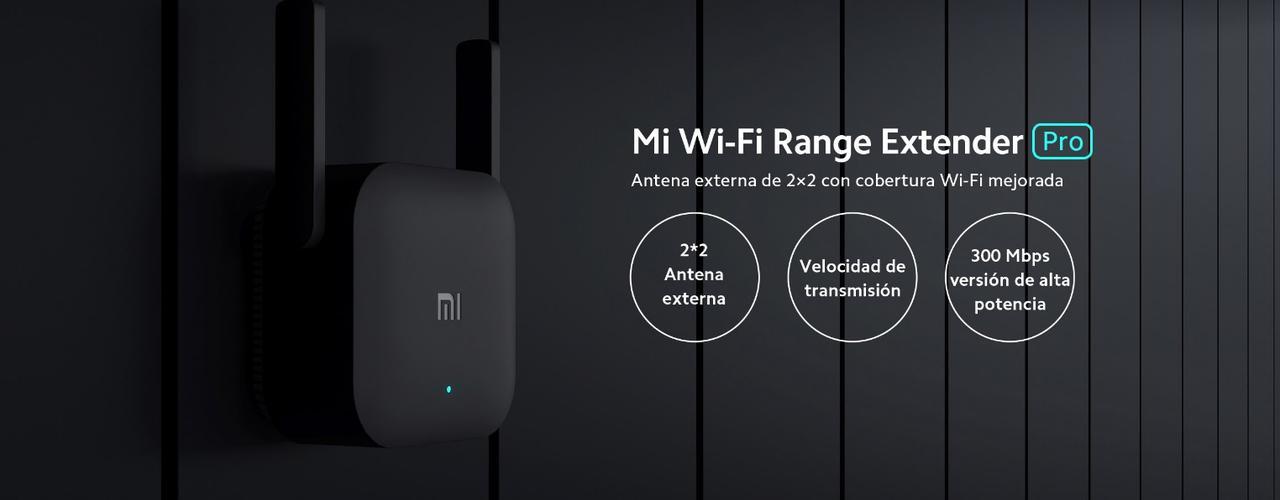 Presentación sobre Mi Wi-Fi Range Extender Pro