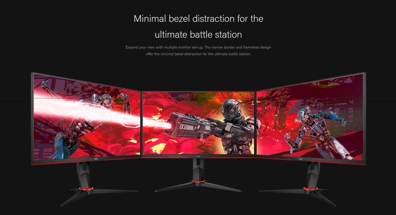 Presentación sobre Monitor gaming AOC 24G2U