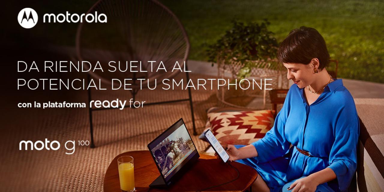 Presentación sobre Motorola Moto g100