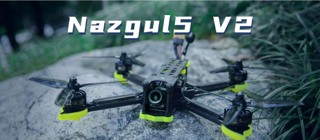 Presentación sobre Nazgul 5 V2 Drone Freestyle FPV
