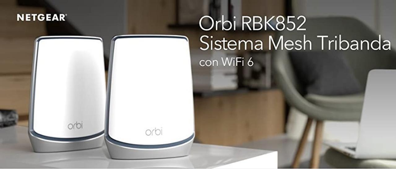 Presentación sobre Netgear Orbi WiFi 6 RBK852
