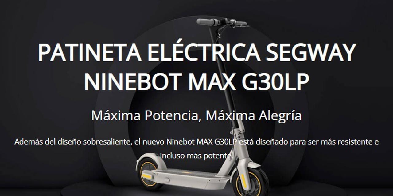 Presentación sobre Ninebot KickScooter MAX G30LP
