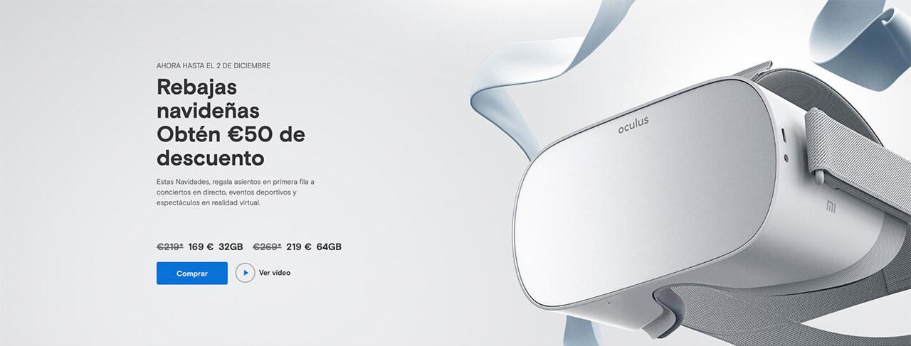 Presentación sobre Oculus Go