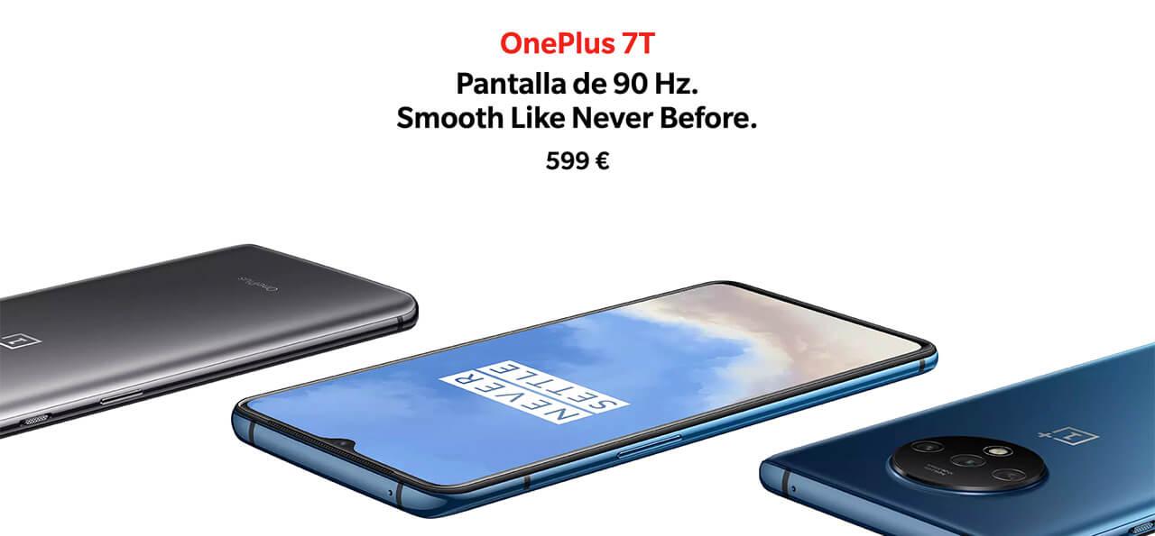 Presentación sobre Oneplus 7T