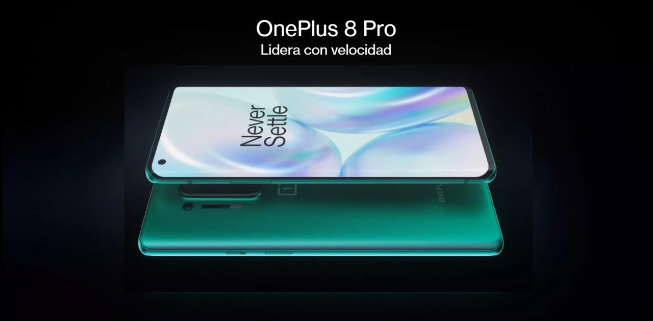 Presentación sobre OnePlus 8 Pro Smartphone 5G
