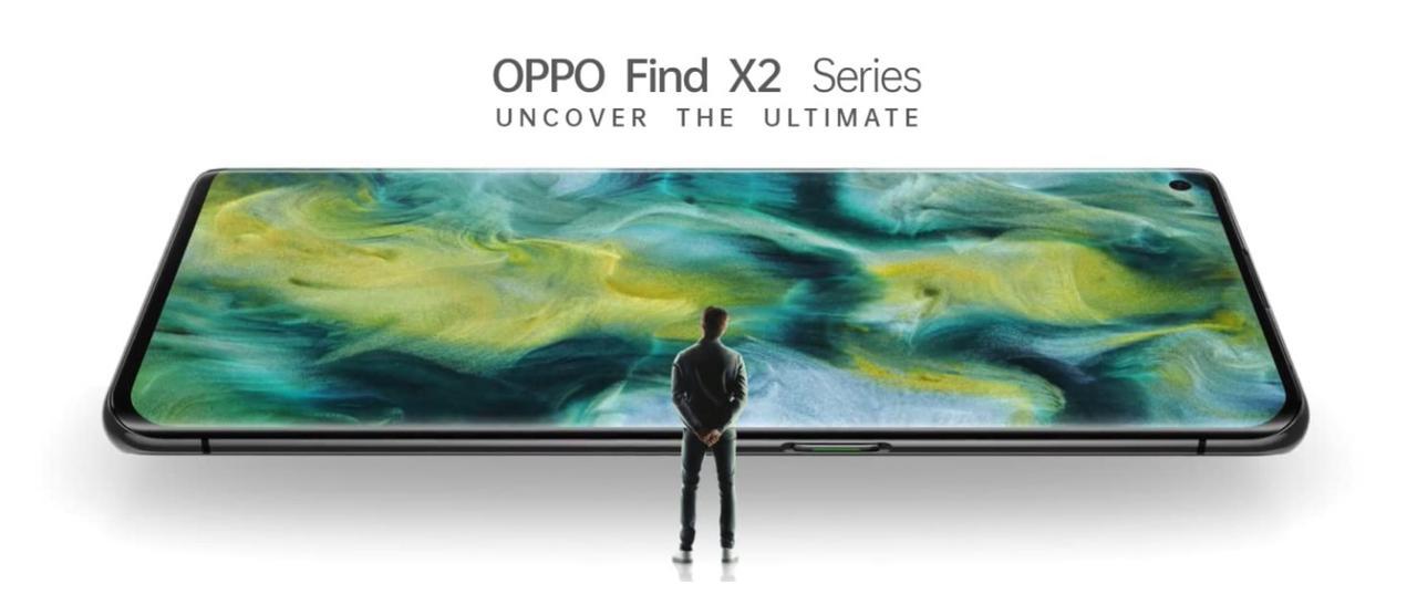 Presentación sobre OPPO Find X2 Pro