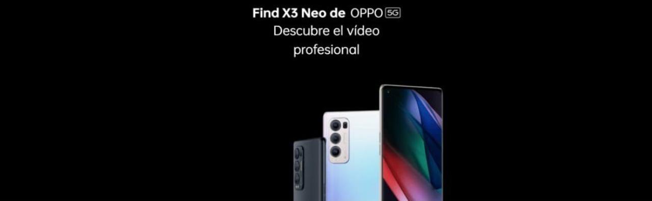 Presentación sobre OPPO FIND X3 NEO