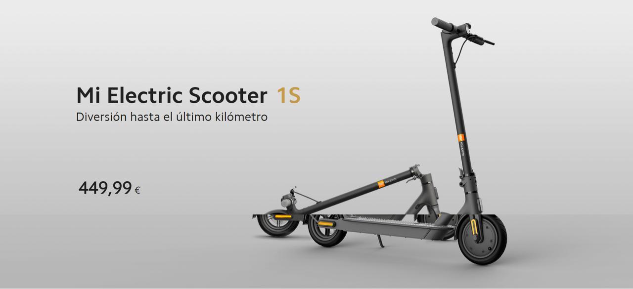 Presentación sobre Patinete XIAOMI Mi Electric Scooter 1S