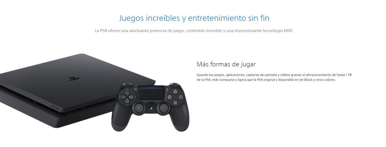 Presentación sobre PlayStation 4 Slim