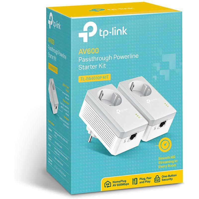 Imagen de PLC TP-Link AV 600 TL-PA4010P número 1