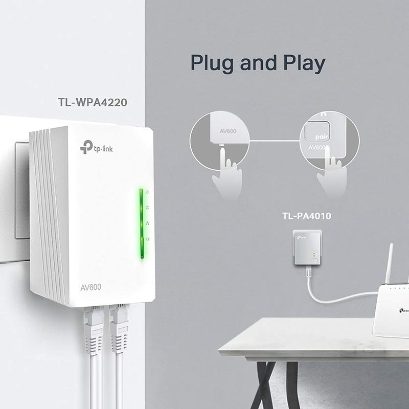 Imagen de PLC WiFi TP-Link TL-WPA4220 KIT número 2