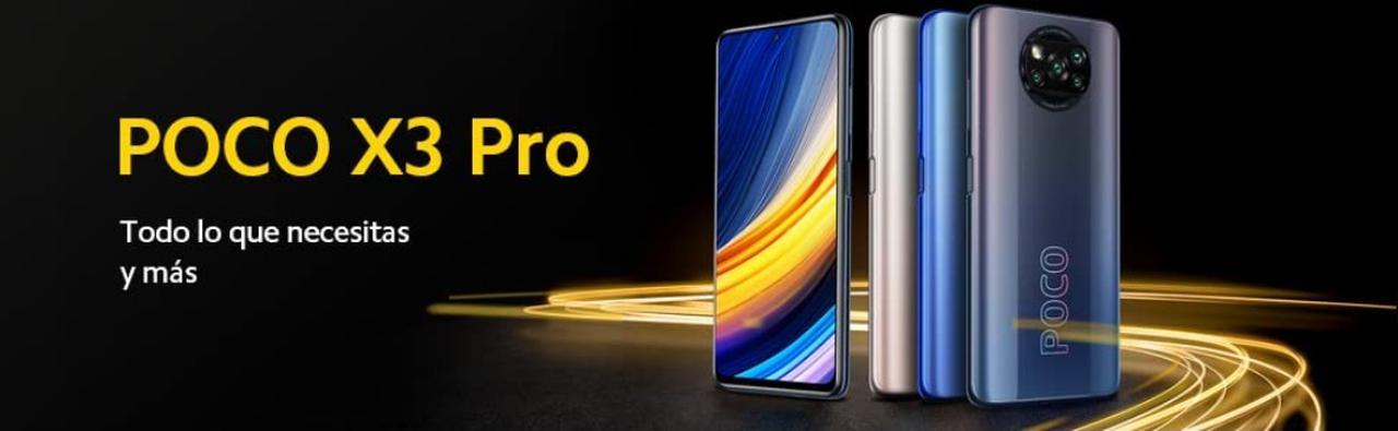 Presentación sobre Poco X3 Pro