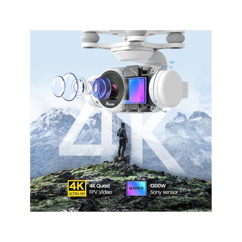 Imagen de Potensic Dreamer 4K Drone GPS número 2