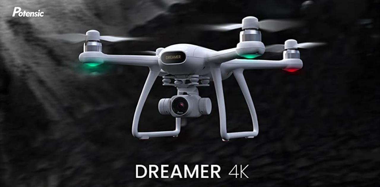 Presentación sobre Potensic Dreamer 4K Drone GPS