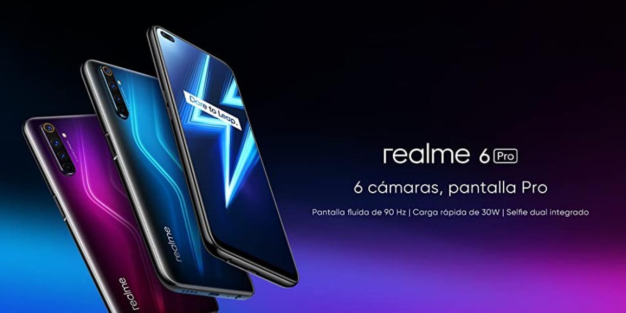 Presentación sobre Realme 6 Pro