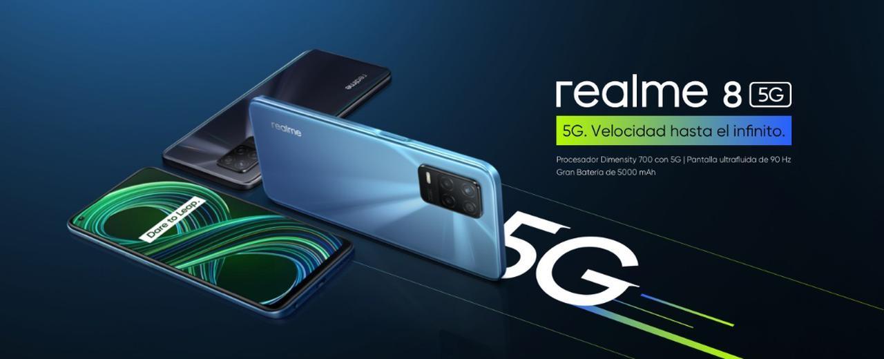 Presentación sobre Realme 8 5G