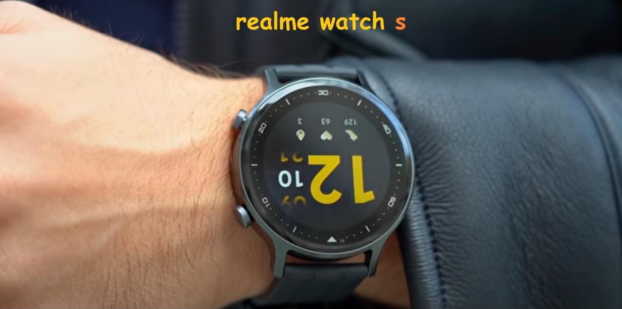Presentación sobre Realme Watch S