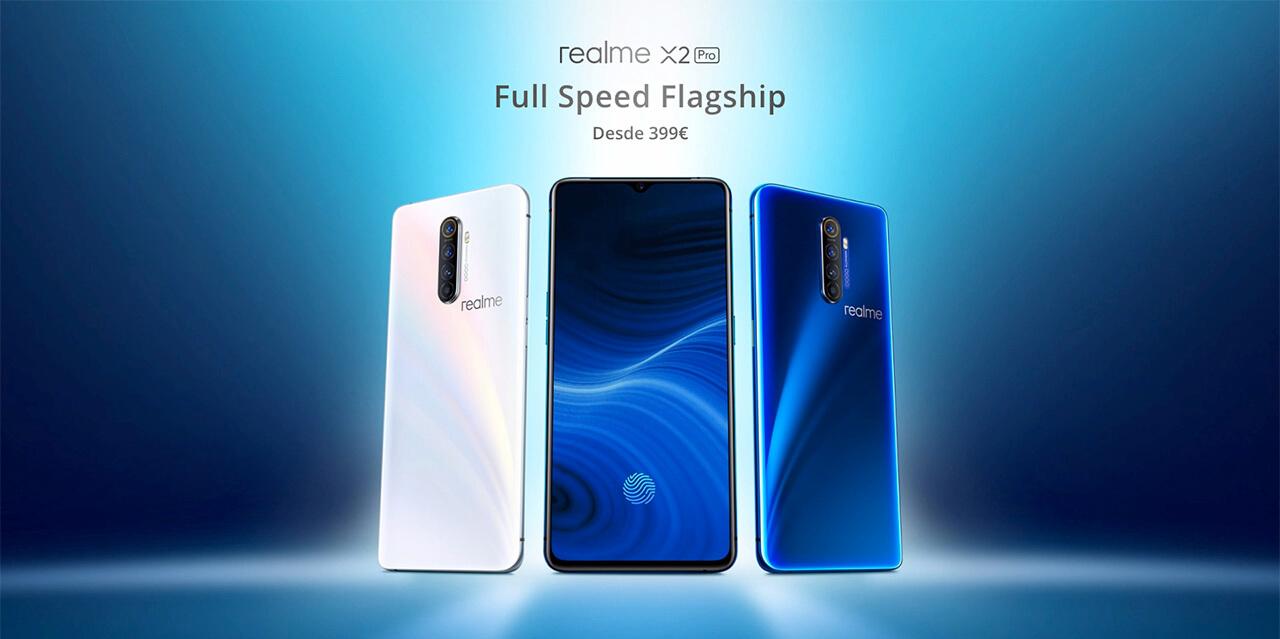 Presentación sobre Realme X2 PRO