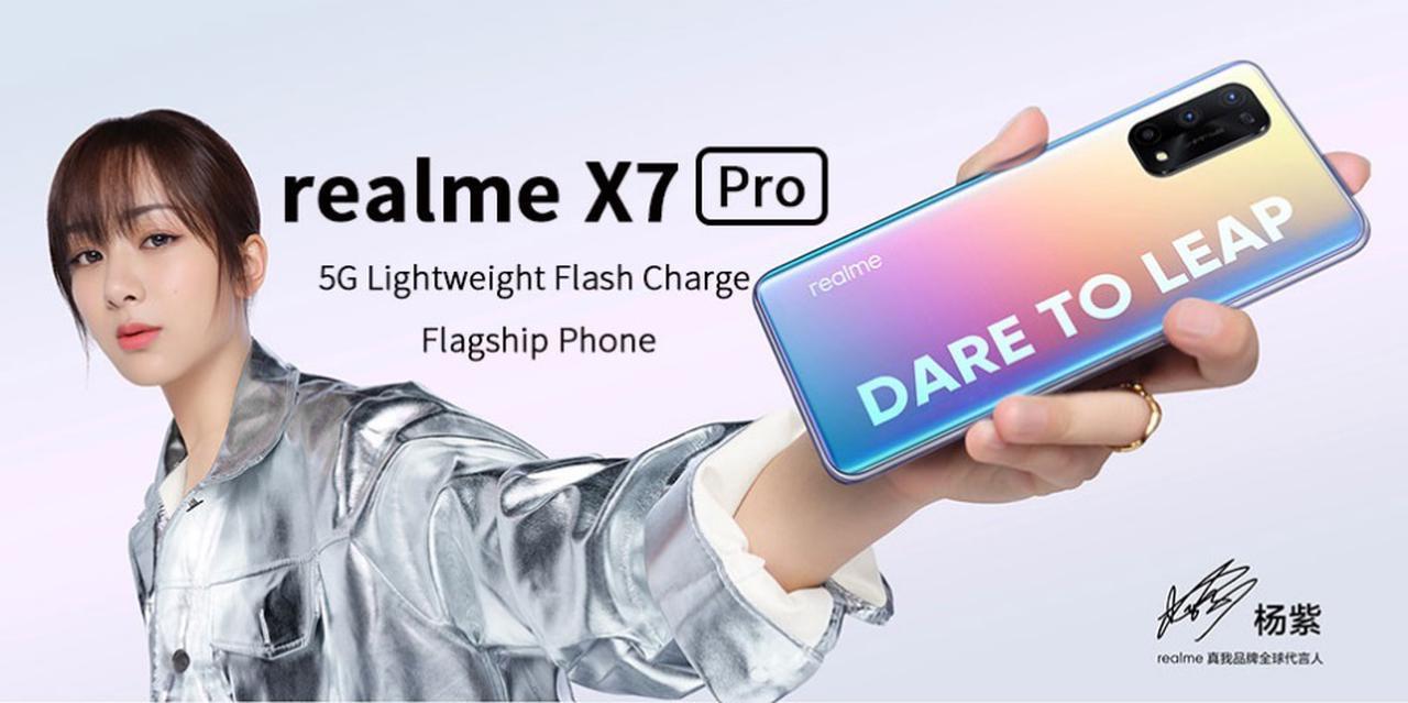 Presentación sobre Realme X7 PRO 5G