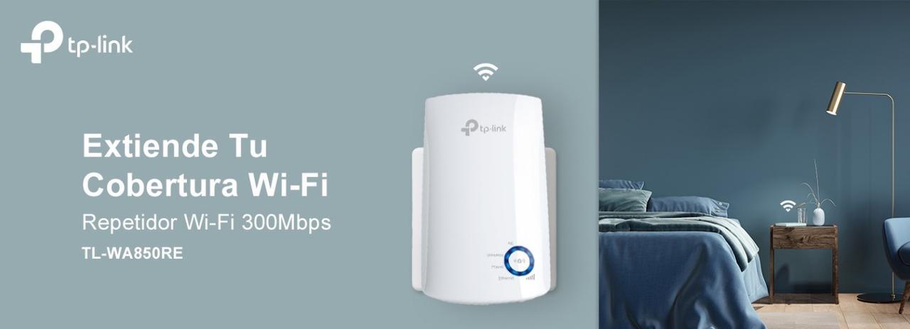 Presentación sobre Repetidor WiFi TP-Link N300 TL-WA850RE