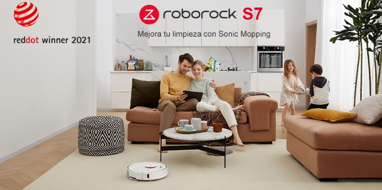Presentación sobre Roborock S7 Robot de Limpieza