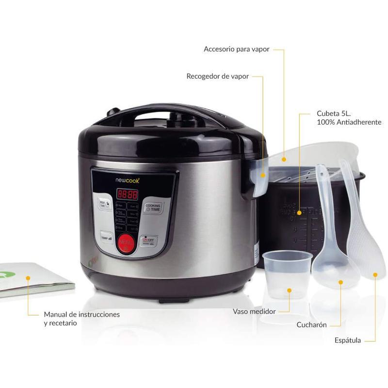 Imagen de Robot de cocina Newcook Multifunción número 1