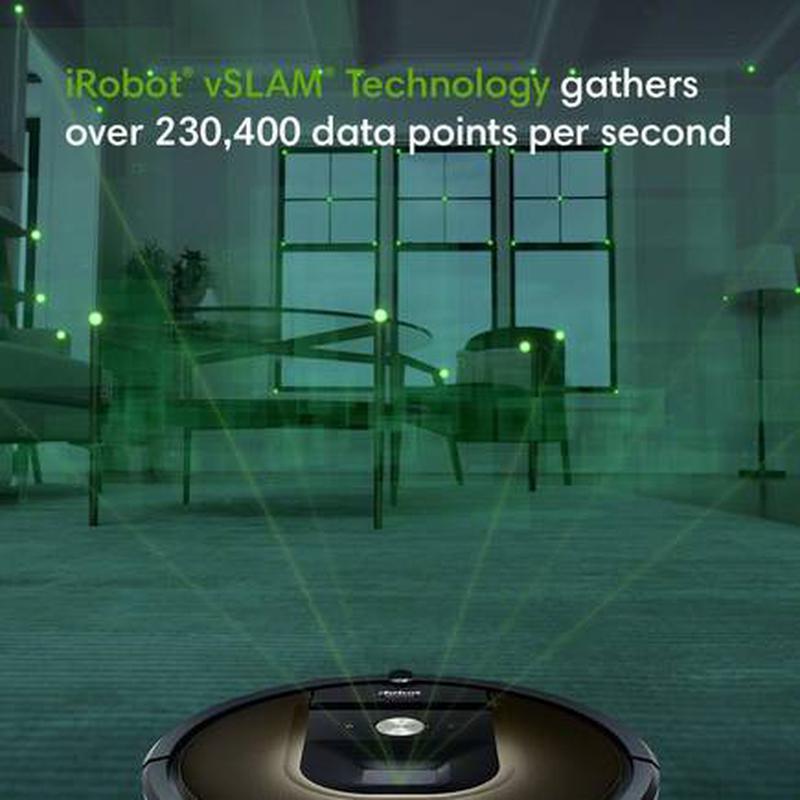 Imagen de Robot de limpieza iRobot Roomba 980/981 número 2