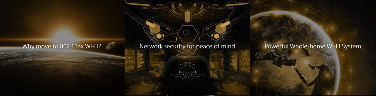 Presentación sobre Router ASUS RT-AX55