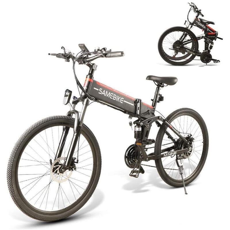 Imagen de Samebike LO26 Ciclomotor Plegable Inteligente E-bike número 1