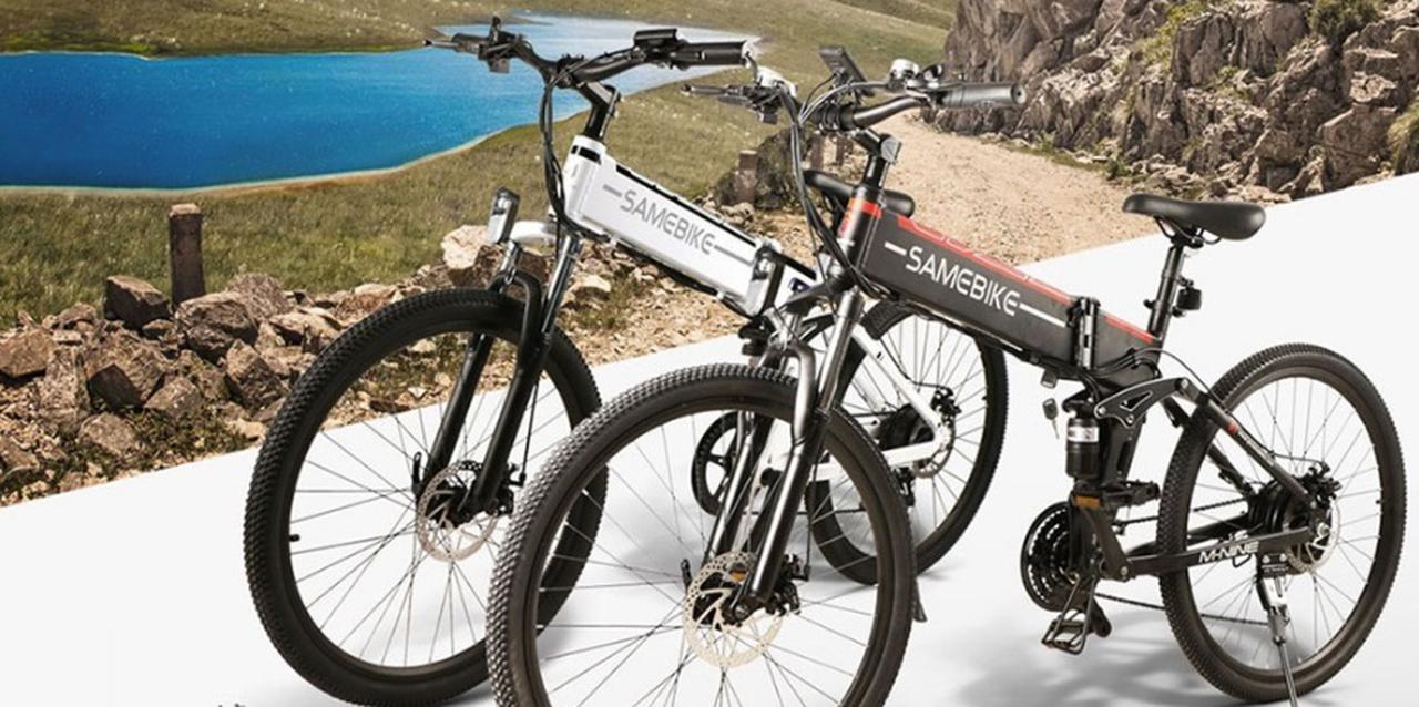 Presentación sobre Samebike LO26 Ciclomotor Plegable Inteligente E-bike