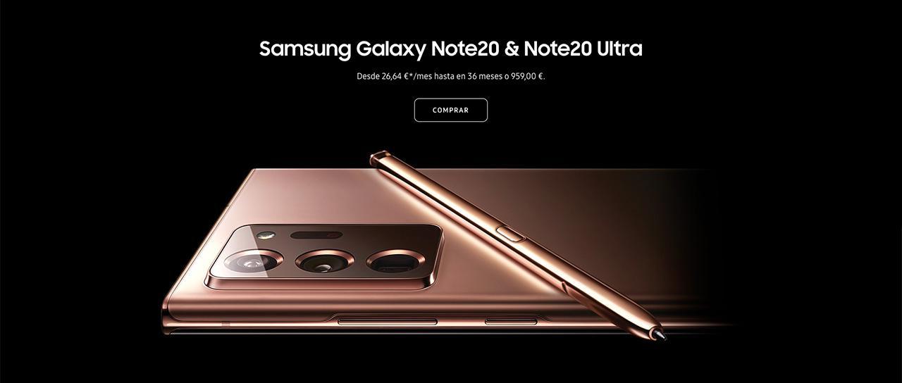 Presentación sobre Samsung Galaxy Note20 Ultra 5G