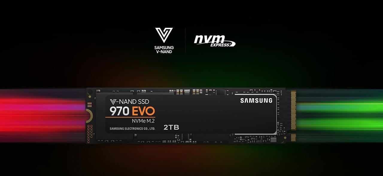 Presentación sobre Samsung M.2 970 EVO Plus