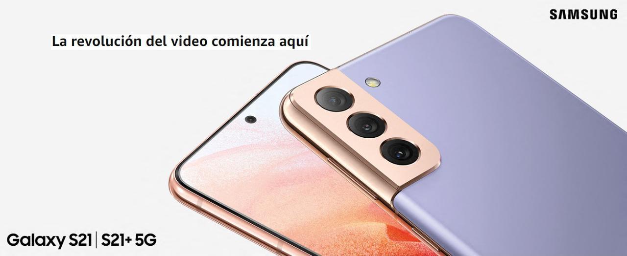 Presentación sobre Samsung S21 Plus