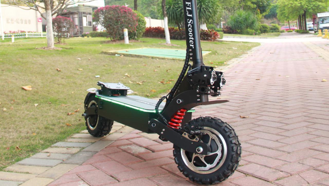 Presentación sobre Scooter Eléctrico FLJ T112