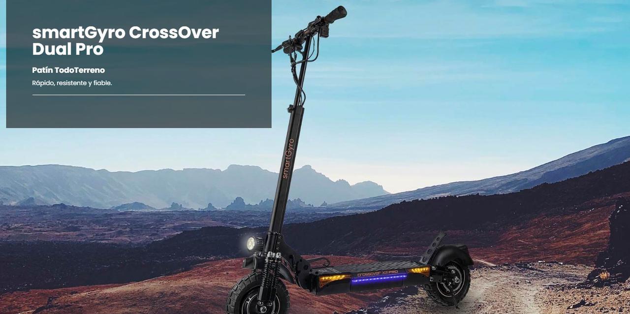 Presentación sobre SmartGyro CrossOver X2 Pro
