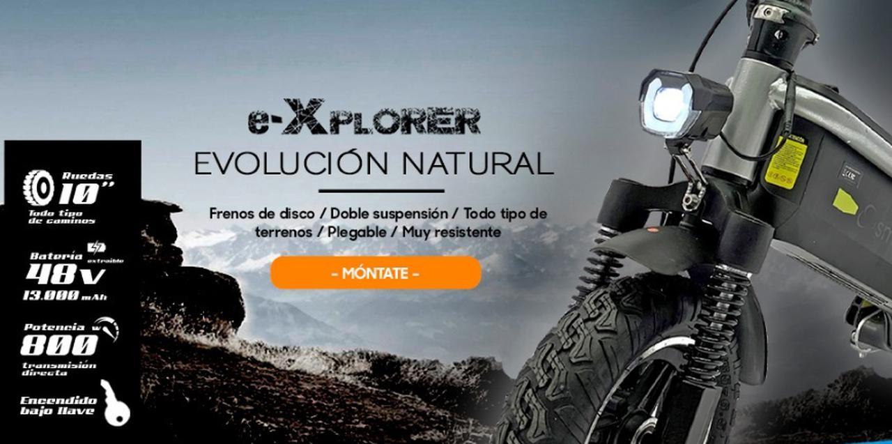 Presentación sobre SmartGyro E-Xplorer 800W  48V